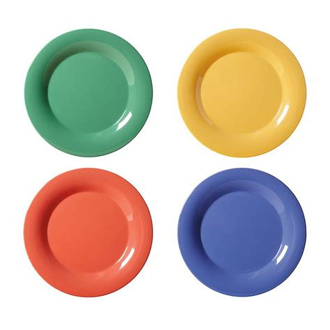 get color get wp 9 mix 4 9 quot dinner plate melamine multi