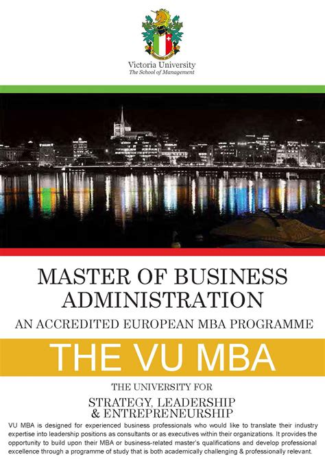 Https Www Uta Edu Business Mba Admin Php by Brochure