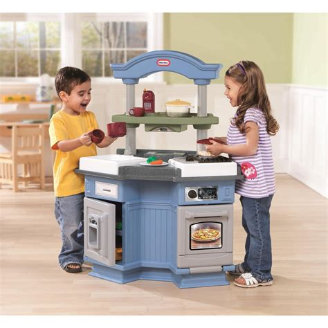Tikes Childrens Kitchen by Tikes Gourmet Prep N Serve Kitchen