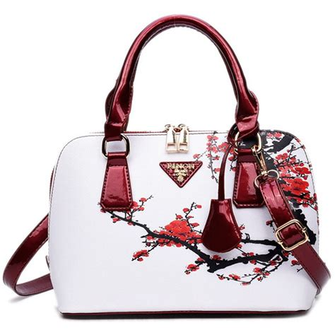 Fadhion Bag wintersweet print handbag in sammydress