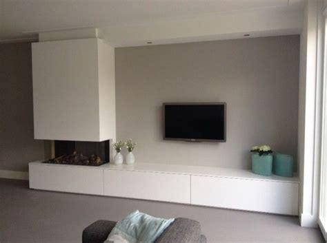 bank als tv meubel 25 beste idee 235 n over tv open haard op pinterest grijze