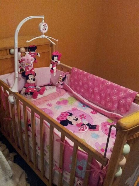 minnie mouse baby bed 1000 images about minnie mouse nursery on pinterest