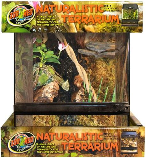 Zoo Med L by Zoo Med Large Naturalistic Terrarium