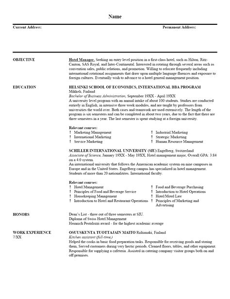 resume sample and resume format resume cover letter template