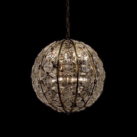 Recent Acquisition Chandelier By Ingeborg Lundin For Sphere Chandelier With Crystals