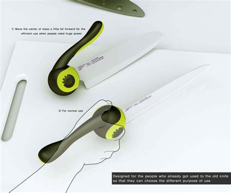 kitchen knife design redesign the kitchen knife yanko design
