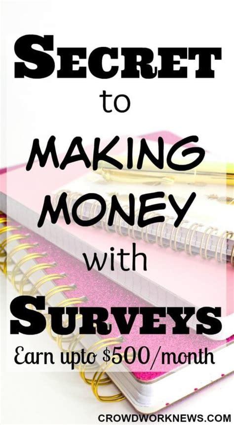 Make Money Doing Surveys Online Legit - best 25 ways to earn money ideas on pinterest making extra cash make money from