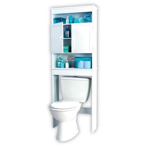 meuble wc blanc   Achat / Vente colonne   armoire wc
