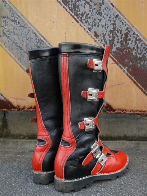 vintage motocross boots sidi vintage motocross boots black 215 26cm sixhelmets