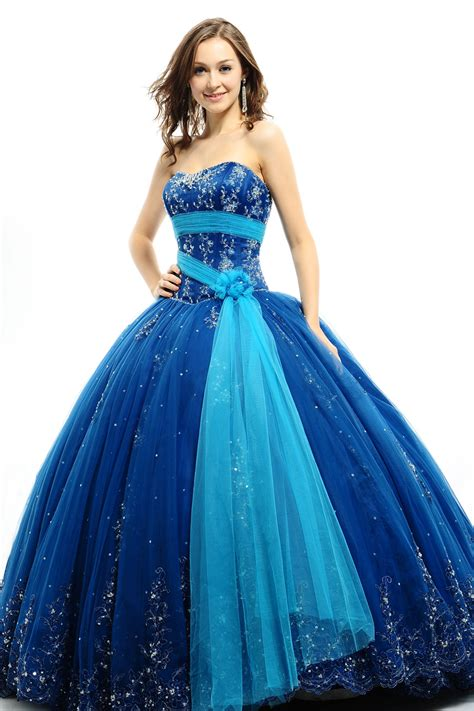 Dress Blue blue quinceanera dresses prom dresses