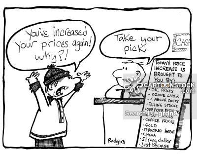 price increase cartoons and comics funny pictures from
