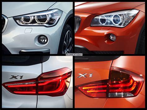 Bmw 1er Coupe Facelift Unterschiede by Bild Vergleich Neuer Bmw X1 F48 Vs Vorg 228 Nger X1 E84
