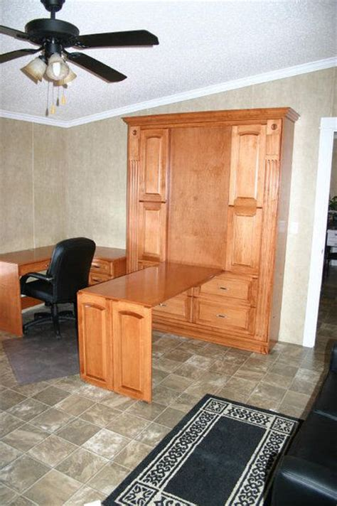 murphy bed with table murphy desk murphy bed with desk and guest rooms on pinterest