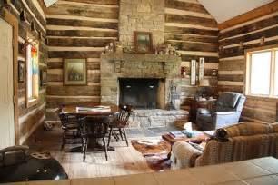 log cabin fireplace log cabin rustic ideas