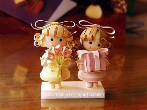 paper quilling doll tutorial 617 best quilling people profession 3d images on