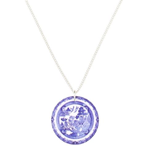 Tatty Devines Ss07 Jewellery Collection Available Now by Tatty Willow Pattern Necklace At Jewellery4
