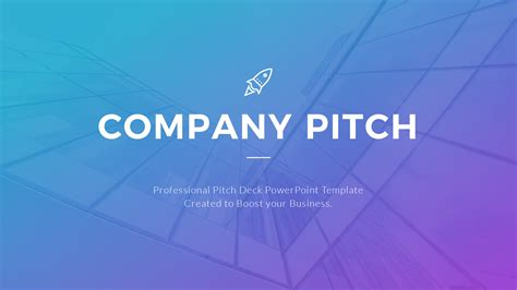 Company Pitch Powerpoint Template By Jafardesigns Pitch Powerpoint Template