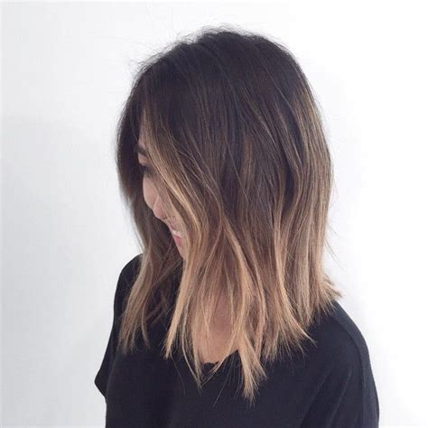 a line haircut ombre color 707 best ombr 201 balayage images on pinterest hairstyle