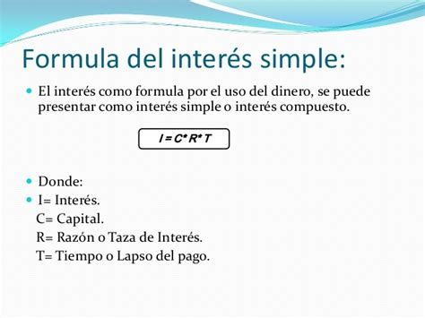 formula para calcular los intereses de cesantias interes simple y exacto matematica