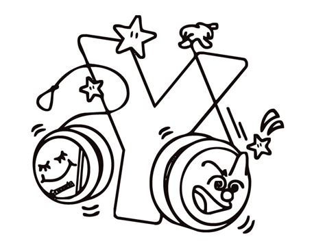 Letter Y Coloring Page by Letter Y Coloring Pages To And Print For Free