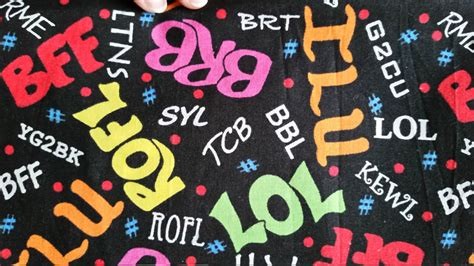 Novelty Quilting Fabric by Bff Lol Novelty Cotton Quilting Fabric 1 5 Yds 45 Black