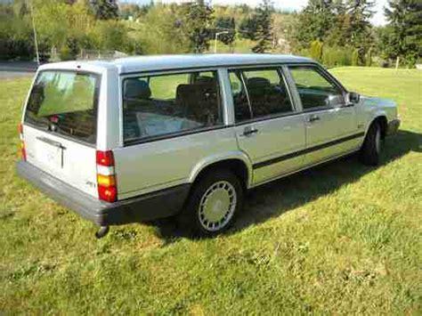 sell used 1991 volvo 740 wagon in seattle washington