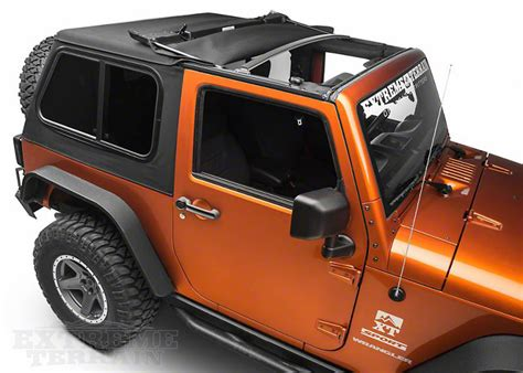 jeep with top types of jeep wrangler tops how to care for them