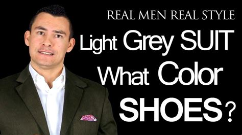 what color dress shoes does a man wear with a youtube what color dress shoes does a man wear with a light grey