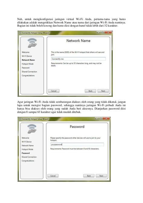cara membuat jaringan wifi lancar cara mudah membuat jaringan wifi