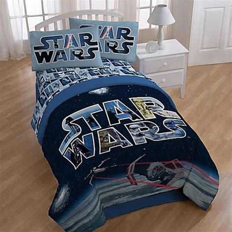 star wars comforter full size star wars space battle comforter and sheets 5pc bedding