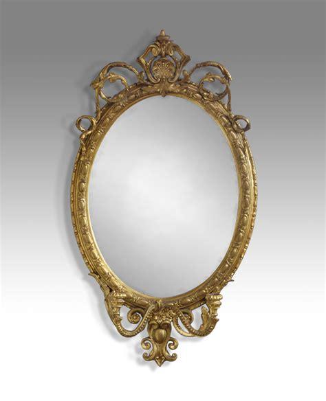 Decorative Bookcases Antique Oval Mirror Gilt Mirror Candle Sconse Mirror