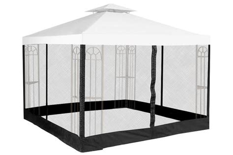 gazebo mosquito net replacement insect netting for gazebos the outdoor patio