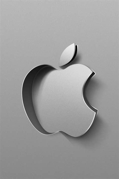 Apple Mac Brand Logo Iphone Wallpaper 4 4s 55s 5c 66s Plus 3d apple logo simply beautiful iphone wallpapers