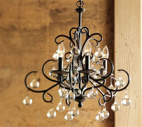 Pottery Barn Chandeliers Bellora Chandelier Pottery Barn