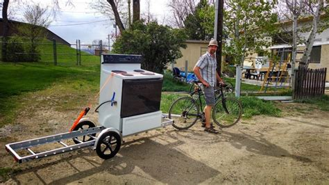 Small Camp Floor Plans by How To Carry Major Appliances On Your Bike