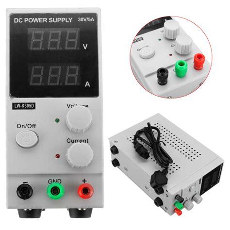 Dc Power Supply 0 30v 0 5a Adjustable Adaptor Digital 2 0 30v 0 5a adjustable dc power supply variable precision