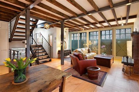 Barns With Lofts Apartments by Renovated Carroll Gardens Carriage House Comes With A