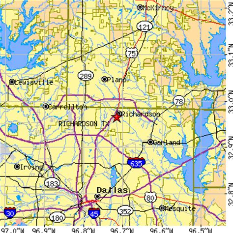 richardson texas zip code map richardson texas tx population data races housing economy
