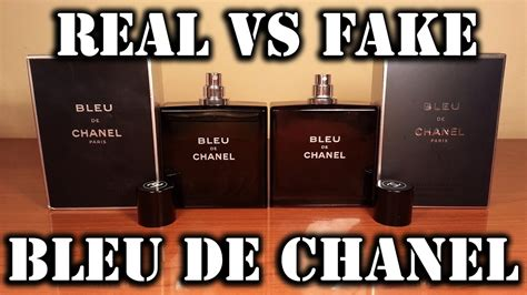 fake fragrance bleu de chanel youtube