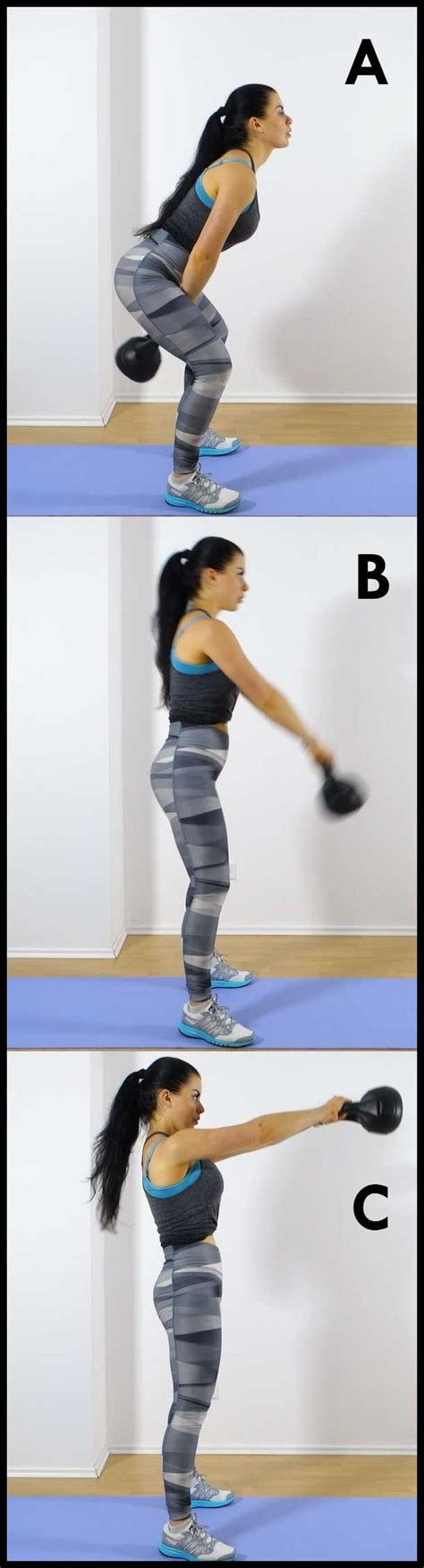 kettlebell swing reps full body attack 5 minute intense kettlebell workout