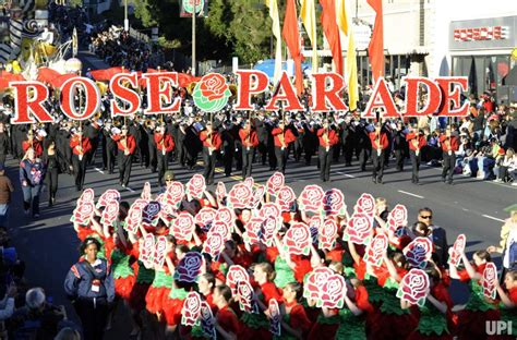 pasadena tournament of roses participants the 123rd annual rose parade upi com