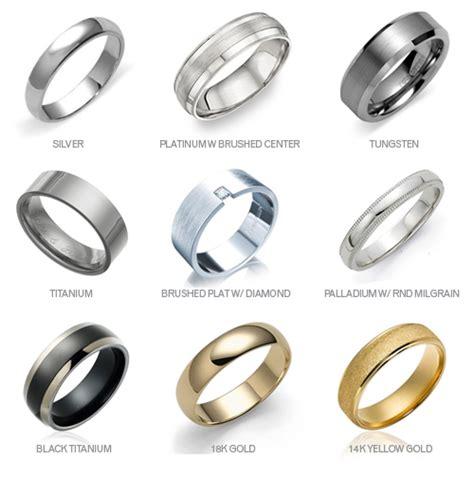 top 30 mens wedding ring materials mens wedding ring