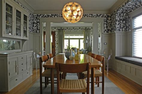 Seattle Wa Lisa Hebner Craftsman Dining Room Dining Room Seattle