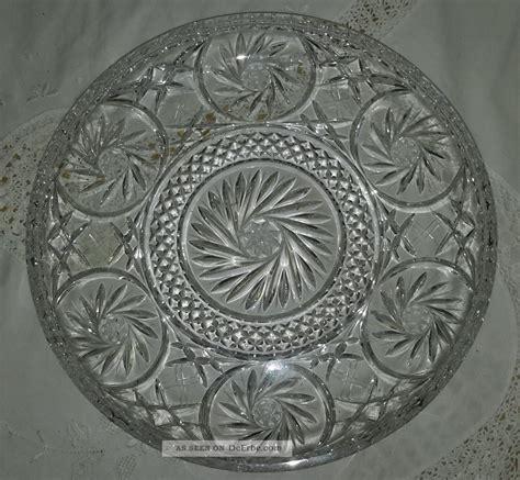 kuchen tortenplatte kristallglas bleikristall