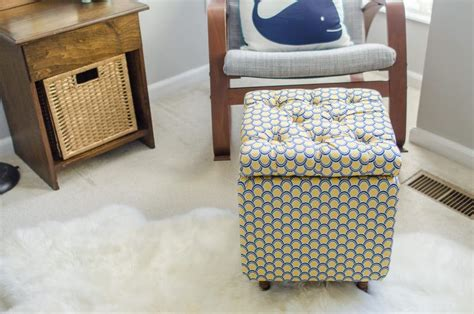 how to make a pouf ottoman diy tutorial how to make a diy storage ottoman part 2