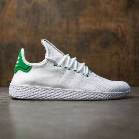 adidas x pharrell adidas x pharrell williams men tennis hu white footwear