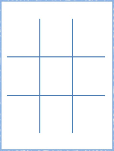 tic tac toe template tic tac toe board for free tidyform