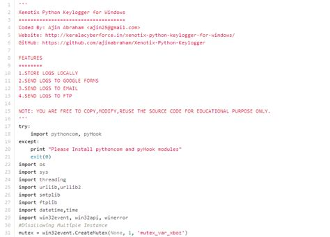 beelogger keylogger python easy underc0de simple keylogger program java crushpriority