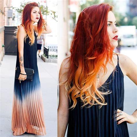 cosas y pelo 8415916221 a year ago its that time again nyfw cosas cabello peinados y pelo rojo