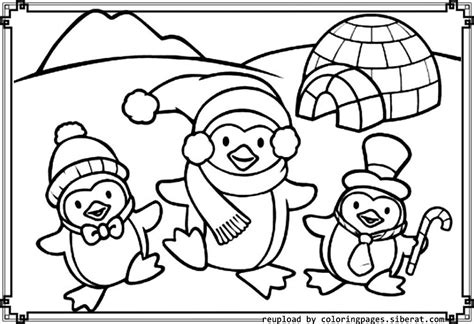 cute coloring pages of penguins az coloring pages